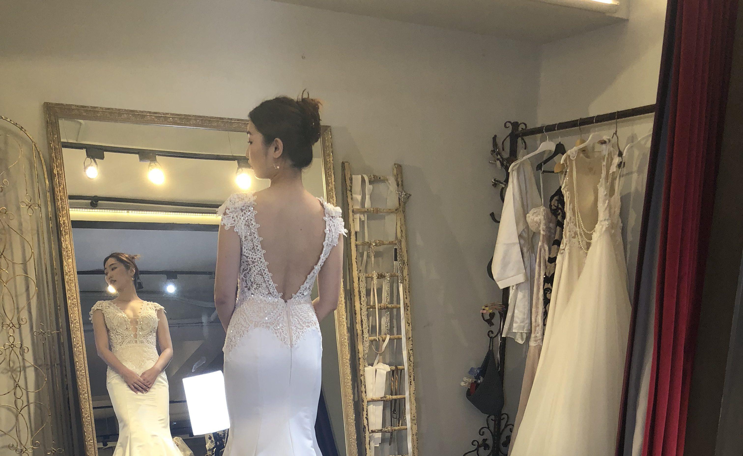 囍·台北婚紗工作室試穿分享(中)-yours bridal、KA禮服收藏館