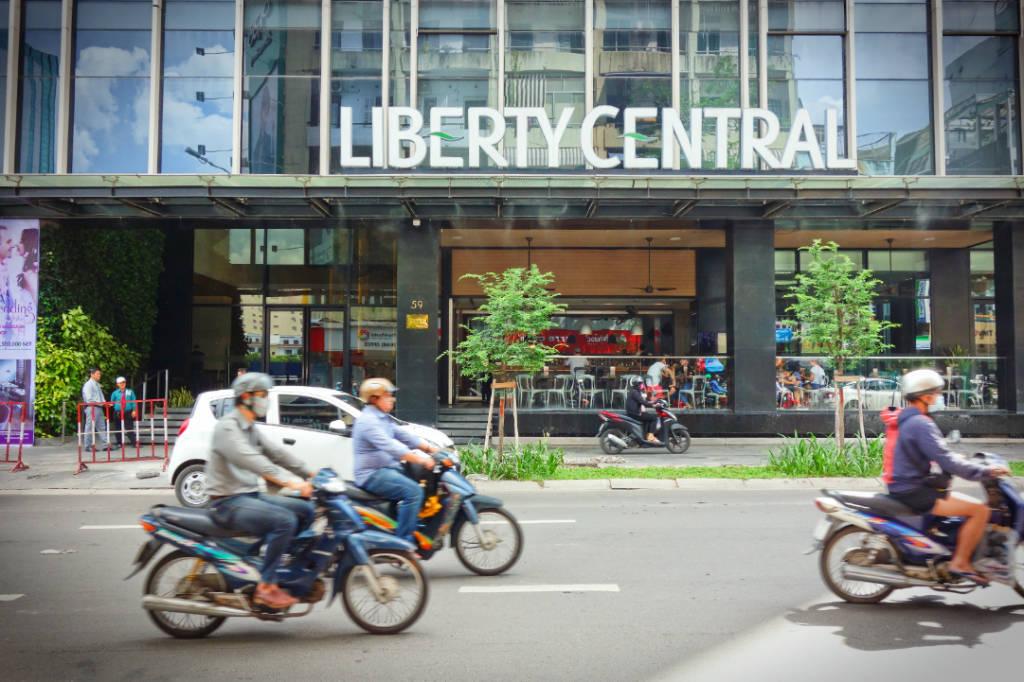 越南‧胡志明市‧住宿-四星飯店Liberty Central Saigon Citypoint Hotel,走路可到多個景點